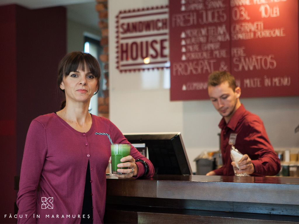 Monica Iusco - Sandwich House Baia Mare